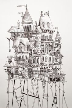 Home by Eren Dedeleroglu, via Behance.