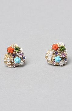 Betsey Johnson The Farmhouse Heart Charm Stud, Save 20% off with Rep Code: PAMM6