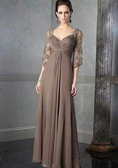 Cheap mother dress, Buy Quality mothers mother directly from China dress mother Suppliers: 2017 Spring Summer Mother dress Ruched Elegant Crew Zipper Applqiues Mother Of The Bride/Groom Dress Vestidos Plus Size Mother Of The Bride Dresses Long, Mothers Dresses, Mother Bride, Mob Dresses, Bridesmaid Dresses, Chiffon Dresses, Dresses 2014, Lace Chiffon, Tunic Dresses
