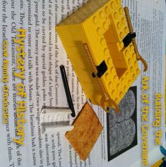 Build the Ark of the Covenant - will go well with our Old Testament study and love of legos