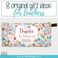 Original gift ideas for teachers, appreciation, end of school year, to give, thank you #gifts #teacher