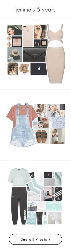 """""""jemma's 5 years"""" by aliiiiison ❤ liked on Polyvore featuring art, snowinseptember5years, American Eagle Outfitters, H&M, NARS Cosmetics, adidas, Topshop, Graphic Image, Levi's and Dr. Martens"""