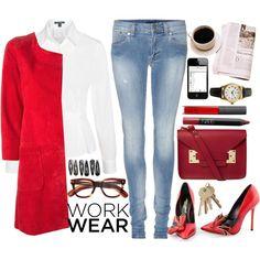 """work wear"" by an-italian-brand on Polyvore"