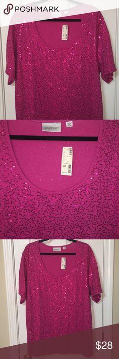 FRESH PRODUCE 3X Papaya Pink WAVES Square Neck Jersey Cotton Dress NWT New 3X