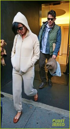 Katy Perry: Low Key Apartment Exit with John Mayer