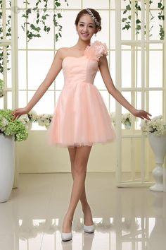 Sweety A-Line One Shoulder pink sweet 16 Dresses 012b391d0b9e