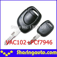 Free shipping 1 Button Remote Control For Cilo With VAC102 Blade for Renault 5pc/lot