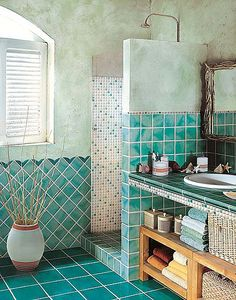 inset shelf bathroom tile - Google-haku
