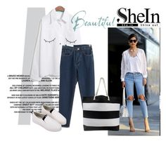 """""""shein 1"""" by aida-1999 ❤ liked on Polyvore featuring WithChic and vintage"""