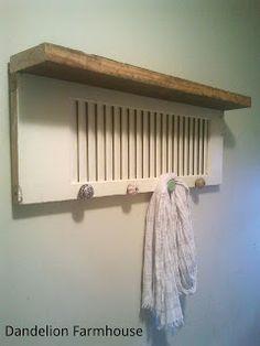 DIY Shutter Shelf