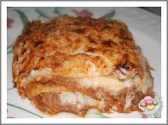 Lasagnes entièrement au thermomix