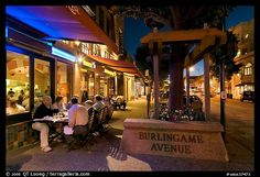 Burlingame California.  Small community located outside of San Francisco.  Mom and Dad lived there.  What an amazing town!