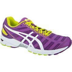 purple asics running shoes   asics GEL-DS Trainer 18 Women Running Shoe - purple/white/neon yellow