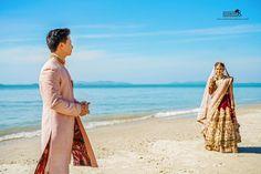 I wonder if we ever think of each other at the same time❤ Samveg+Tanvi (destination Wedding ) #savethedate #destinationwedding  #colors #wedding #weddingsutra #weddingdiaries #love #loveintheair #emotions #fairytale #romance #royal#loveforlife #instadaily #instagramers #bride#bridaldress  #beachwedding ##weddingfun#drama#night #weddingphotography #weddingdiaries #sea #rocks#sabyasachibride #bride #designer #bigfatwedding #groom http://gelinshop.com/ipost/1520892752991996560/?code=BUbS-abjcqQ
