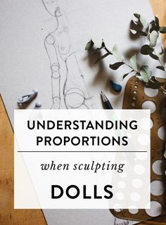 Understanding proportions when sculpting dolls — Adele Po. Understanding proportions when sculpting dolls Sculpting Tutorials, Doll Making Tutorials, Making Ideas, Making Dolls, Art Tutorials, Doll Crafts, Diy Doll, Clay Crafts, Polymer Clay Sculptures