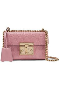 9a655b3bd7cc Gucci - Padlock Small Embossed Leather Shoulder Bag - Antique rose - one  size Gucci Shoulder