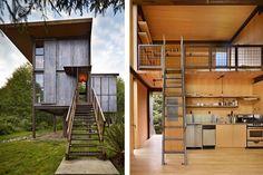 Olson Kundig Architects' Prefab Sol Duc Cabin