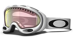 4e9cd2f7b1 Oakley Unisex-Adult A Frame Snow Goggle (Matte White