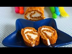 Vegan Pumpkin Cake Roll & Video | Eggless Cooking
