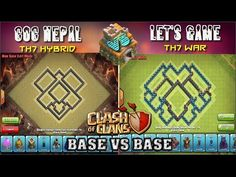 cool Th7 Hybrid Base Vs Th7 War Base || Base Vs Base Challenge || Clash of ClansPlease share this video with your friends on Facebook, Twitter, etc. This is Clash of Clans Base Vs Base Challenge......http://clashofclankings.com/th7-hybrid-base-vs-th7-war-base-base-vs-base-challenge-clash-of-clans/