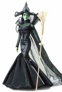 Barbie 2014 WOZ Fantasy Glamour Wicked Witch of The West Doll Gold Excl for sale Barbie 2014, Barbie I, Barbie World, Barbie And Ken, Barbie Clothes, Hello Barbie, Barbie Outfits, Barbie Stuff, Glamour