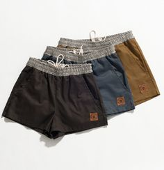 Gym Shorts made with Recycled Hemp & Organic Cotton
