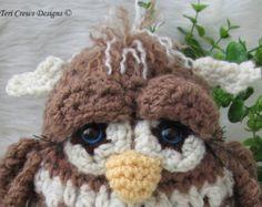 Crochet Pattern Lamb by Teri Crews instant por TCrewsDesigns