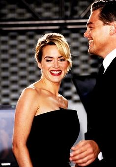 Kate Winslet and Leonardo DiCaprio