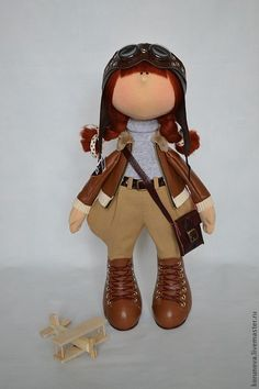 кукла авиатор