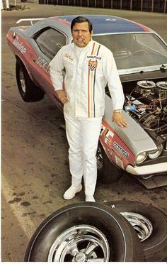 """Dandy Dick"" Landy 1970. Iconic and innovative drag racer pioneered major sponsorship in the sport with Chrysler Corporation & Pepsi-Cola"