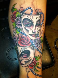 marti gras mask tattoo - Yahoo Image Search Results