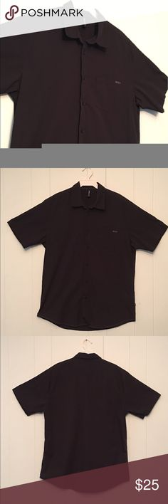 RVCA Black Button Down Men's Shirt Brand: RVCA Condition: This item is in Good Pre-Owned Condition! There are NO Major Flaws with this item, and is free and clear of any Noticeable Stains, Rips, Tears or Pulls of fabric. Overall This Piece Looks Great and you will love it at a fraction of the price!  Size: Large  💥Top Rated Seller 💥Top 10% Sharer 💥Posh Mentor 💥Super Fast Shipper RVCA Shirts Casual Button Down Shirts
