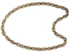 Kalevala Koru / Kalevala Jewelry / SETUKAIS' CHAIN NECKLACE, material: bronze
