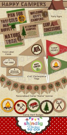 Super Ideas For Kids Camping Party Decorations Campfire Cake Camping Party Decorations, Camping Parties, Camping Theme, Camping Hacks, Diy Camping, Backyard Camping, Camping List, Camping Stuff, Happy Party