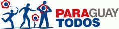 Paraguay Un logo bastante incluyente y que nos hace pensar inmediatamente en el pueblo paraguayo. Al igual que Argentina, deciden jugar con los colores patrios, y una Helvética como tipografía principal. En general es un buen logo, pero como marca turística me parece un poco sencilla, diría que recuerda más a una fundación u ONG.  Más información: http://www.mjt.gov.py/prensa/2009/octubre/se-lanzo-campana-paraguay- para-todos