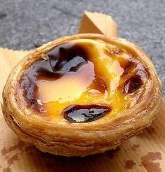 Portuguese egg custard
