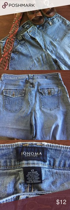 Sonoma Capris Size 12 $12 Sonoma Denim Capris Size 12 $12 Sonoma Pants Capris