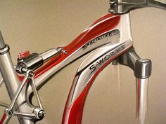 Bicycle detail on Canson