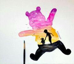 Winnie the Pooh (splash)