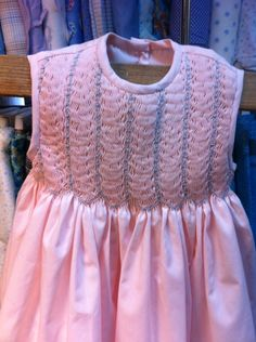 Vestido algodón rosado Alumna junio 2015