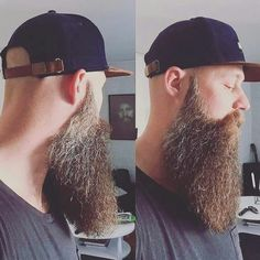 If our list of men before-and-after growing a beard didn't convince you that males look way better with facial hair, this story definitely will. Beard Game, Epic Beard, Full Beard, Long Beard Styles, Hair And Beard Styles, Great Beards, Awesome Beards, Beard Growth Oil, Beard Lover