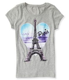 Kids' Eiffel Tower Graphic T - PS From Aéropostale®