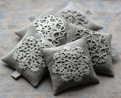 Linen lavender sachets | namolio | Flickr