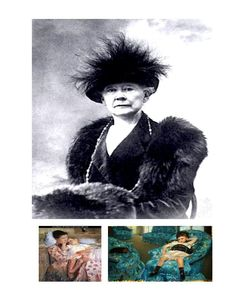 MARY STEVENSON CASSATT was an American painter and printmaker. She lived much of her adult life in France, where she first befriended Edgar Degas and later exhibited among the Impressionists.