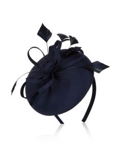 Navy blue fascinator Darcy @Accessorize - Anything Blue