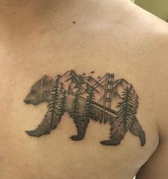 California tribute tattoo done by Colton at Chapter One Tattoo in San Diego.