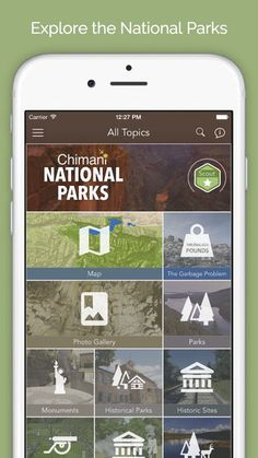 National Parks by Chimani by Chimani, Inc.