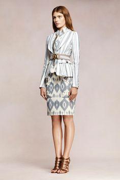 Altuzarra Resort 2013 Fashion Show - Madison Headrick