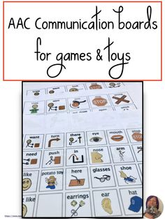 AAC users need a robust core word based communication system. But topical boards can come in handy for specific games and toys. Give AaC users the ability to interact during games and play time. Communication System, Language Development, Special Needs, Candyland, Speech And Language, Speech Therapy, Card Games, Vocabulary, Core