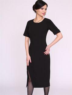 4a9da991b2a32bf Мода Женщины Шерсть и кружева платье Тонкий Длинные рукава ...
